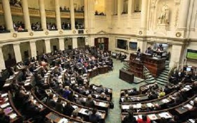 BELGIAN PARLIAMENT JOINS CALLS FOR PALESTINIAN STATEHOOD