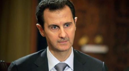 SYRIA'S ASSAD SAYS OPEN TO ANY DIALOGUE WITH ANYONE