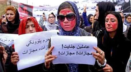 THOUSANDS MARCH IN KABUL OVER MOB KILLING OF WOMAN