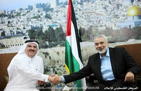 HANEYYA: QATAR OVERCAME OBSTACLES OF GAZA RECONSTRUCTION