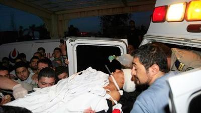 ISRAELI CLUSTER BOMB WOUNDS EIGHT BOYS IN S LEBANON