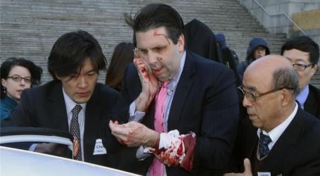 US AMBASSADOR ATTACKED IN SOUTH KOREA