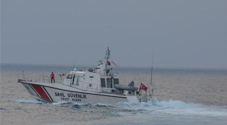 TURKISH COASTGUARD OPENS FIRE ON REFUGEE SHIP