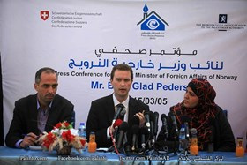 NORWAY CALLS FOR OPENING OF GAZA CROSSINGS, RECONSTRUCTING OF GAZA