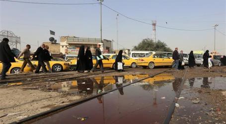 SEPARATE BOMBINGS KILL NINE IN AND AROUND IRAQI CAPITAL