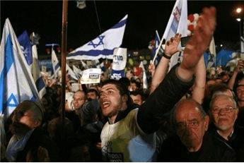 ISRAELIS HEAD TO THE POLLS