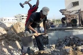 200,000 PALESTINIAN LABORERS UNEMPLOYED IN GAZA