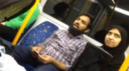 AUSSIE HERO DEFENDS MUSLIM WOMAN ON TRAIN