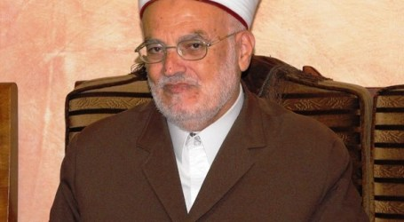 SHEIKH SABRI WARNS OF TURNING A HISTORICAL SCHOOL INTO A SYNAGOGUE