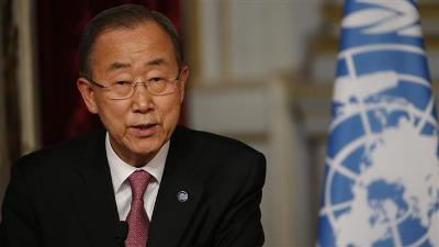 UN CHIEF CONCERNS OVER SITUATION OF REFUGEES