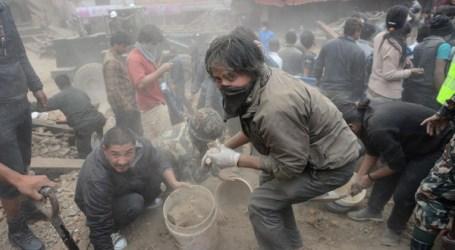 NEPAL QUAKE DEATH TOLL CLIMBS TO 1,910