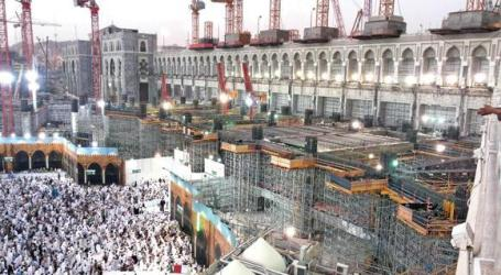 73 PERCENT OF EXPANSION WORK AT GRAND MOSQUE COMPLETED