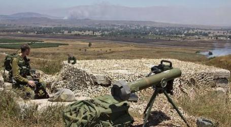 MORTAR FIRE FROM SYRIA HITS ISRAELI-OCCUPIED GOLAN