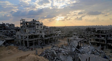 WORLD MUST PUSH FOR END GAZA BLOCKADE