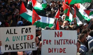 GAZA YOUTH BAND TOGETHER TO STOP HAMAS-FATAH RIFT
