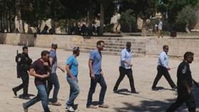ISRAELI OFFICERS, SETTLERS STORM AL-AQSA MOSQUE
