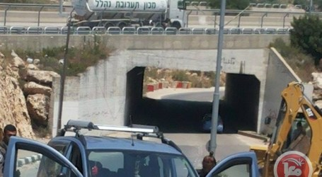 ISRAELI FORCES DETAIN YOUTH, CONFISCATE VEHICLE IN SALFIT