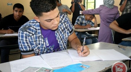 HIGH SCHOOL EXAMS KICK OFF IN THE WEST BANK, GAZA STRIP