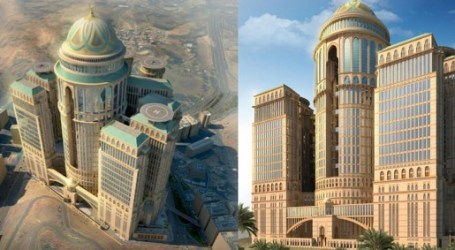 WORLD'S LARGEST HOTEL TO BE BUILT IN MECCA