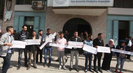 ISRAEL BLOCKS REPAIR OF ELECTRICITY LINES TO GAZA
