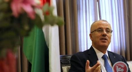 HAMDALLAH AND UN OFFICIAL DISCUSS GAZA RECONSTRUCTION