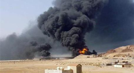 YEMEN'S HOUTHIS ATTACK OIL REFINERY IN ADEN