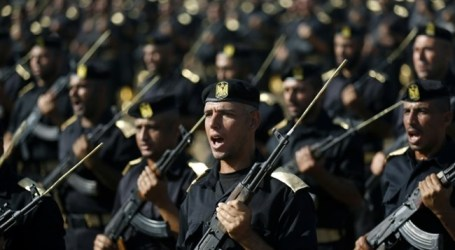 HAMAS ARMED WING GIVES 25,000 GAZANS COMBAT TRAINING