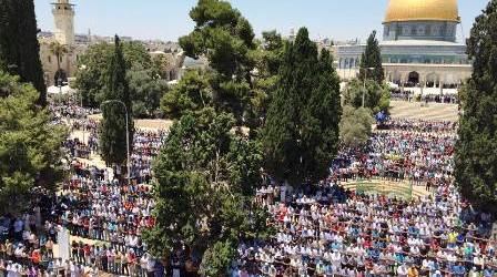 ORTHODOX JEWISH GROUPS ENCOURAGE FURTHER RAIDS OF AL-AQSA