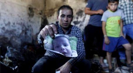 ISRAELIS KILL PALESTINIAN BABY, TORCH HOUSES