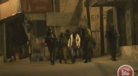 ISRAELI FORCES DETAIN 26 PALESTINIANS IN WEST BANK, EAST JERUSALEM