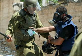 17 'VIOLATIONS' AGAINST PALESTINIAN JOURNALISTS IN JULY