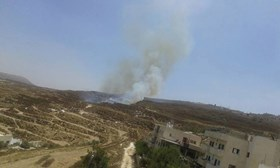SETTLERS TORCH HUNDREDS OF DUNUMS IN SOUTHERN NABLUS