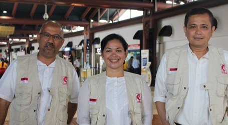 INDONESIAN HUMANITARIAN MER-C BUILDS HEALTH CLINIC IN MYANMAR