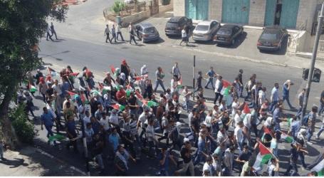 BETHLEHEM YOUTHS PROTEST AGAINST AL-AQSA VIOLATION