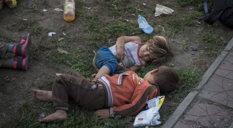 LONG JOURNEY TO EUROPE TRAUMATIZING REFUGEE CHILDREN