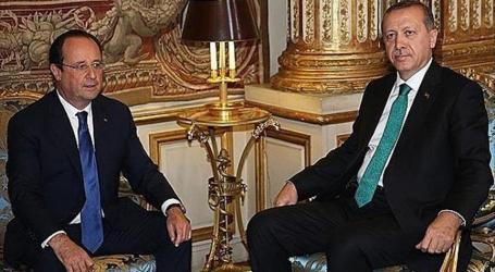TURKEY'S ERDOGAN, HOLLANDE DISCUSS AL-AQSA CLASHES