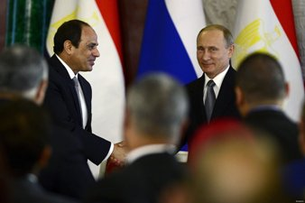 EGYPT REITERATES SUPPORT FOR RUSSIAN AIRSTRIKES IN SYRIA