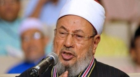 SHEIKH QARADAWI CALLS ON MUSLIMS TO RISE UP IN SUPPORT FOR AL-AQSA