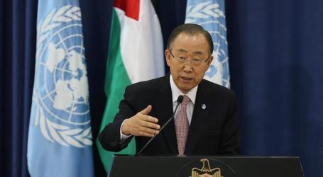 UN Chief Denounces Israeli Occupation, Illegal Settlements Again