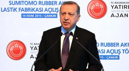 TURKEY: ERDOGAN WARNS COUNTRIES AGAINST BACKING TERROR