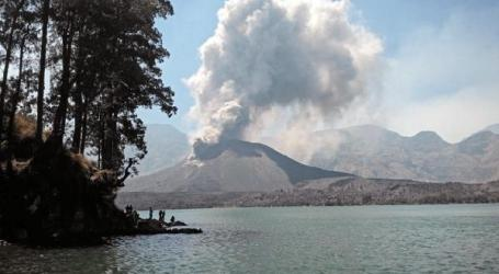 INDONESIA CLOSES BALI, LOMBOK AIRPORTS AS VOLCANO MT BARUJARI ERUPTS