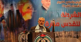 HANEYYA: IN 2016 RESISTANCE IN WEST BANK WILL BE AS POWERFUL AS IN GAZA