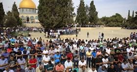 AL-AQSA PREACHER CONDEMNS ISRAELI DEPORTATION POLICY