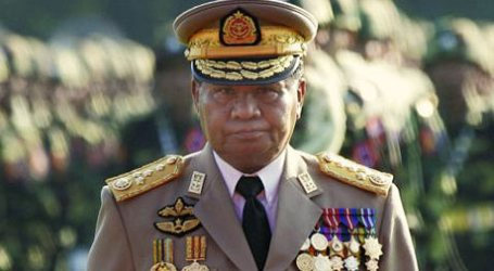 FORMER ARMY CHIEF 'ACCEPTS' SUU KYI AS MYANMAR'S LEADER