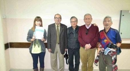 JAPANESE DELEGATION VISITS HOSPITAL IN GAZA