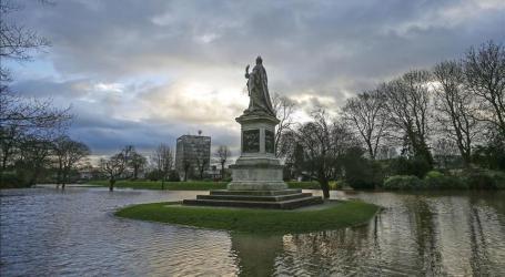 STORM DESMOND CAUSES MAJOR DISRUPTIONS IN UK