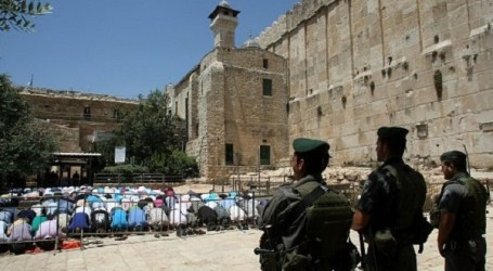 2015: IOF PREVENTED CALL FOR PRAYER 600 TIMES IN IBRAHIMI MOSQUE