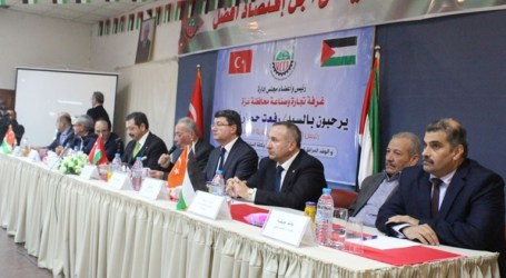 Turkish Trade Delegation Pops Blocaded Gaza