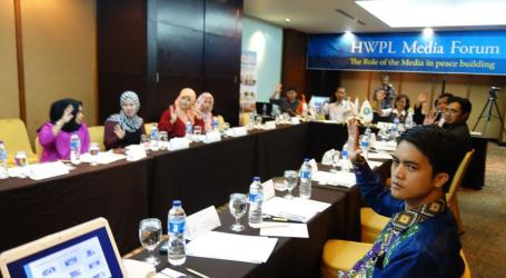 1st HWPL Media Forum in Indonesia: 'the Role of Media in Peace Building'