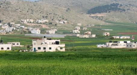 Israeli Forces Halt Agricultural Constructions in the Jordan Valley